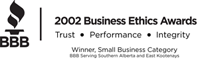Basement Systems Calgary Inc 2010 Business Ethics Award Honourable Mention